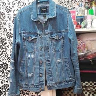 Distressed Denim Jacket | Forever 21