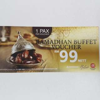 Ramadhan Buffet Voucher Sime Darby Convention Centre