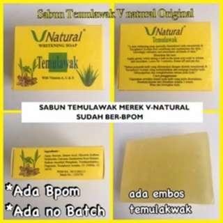 Temulawak Sabun V Natural