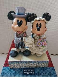 迪士尼米奇老鼠結婚擺設