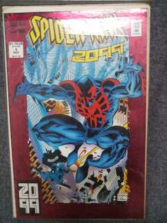 SpiderMan 2099 issue 1 1993 print comic