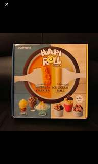 Hapi Roll ice cream maker(日本)