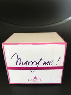 Lanvin 'Marry Me' Perfume 50ml BNIB