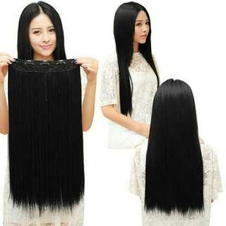 Hairclip hitam lurus