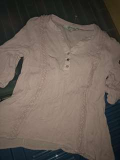 Pink Blouse