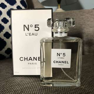 Chane N5 Leau 100ml Original Reject From Factory