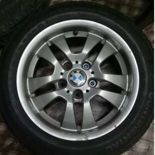 "Tayar Raya 16"" BMW with Standard Sport Rim x 4 Units"