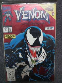Venom issue 1 Collectors 1992 comic