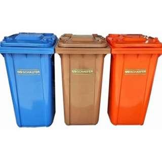 Schaefer Mobile Garbage Bin 2-Wheel (3 in 1)
