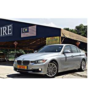 BMW 328i 2.0 ( A ) F30 MODEL !! 6 YEARS OLD CAR DONE ONLY 18,489KM !! GENUINE MILEAGE THAT COMES WITH FULL BMW SERVICE RECORDS !! ( WXX 1881 ) 1 LADY OWNER