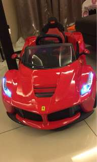 Original La Ferrari kids Ride on- Must have for Ferrari fans