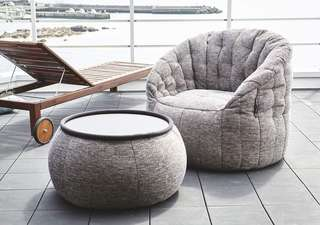 Ambient Lounge - Butterfly Sofa in Eco Weave
