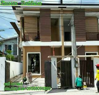Thru bank financing house and lot for sale