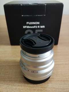 Fujifilm Fujinon 35mm f2.0 R WR Lens tags Fuji X Mount