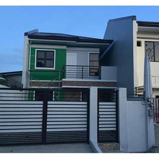 House and Lot in North Olympus Subd. 120sq.m Lot Area in Zabarte Road
