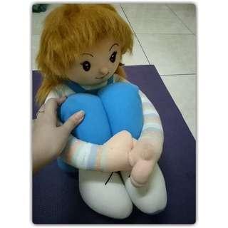 Boneka sitting girl No deffect