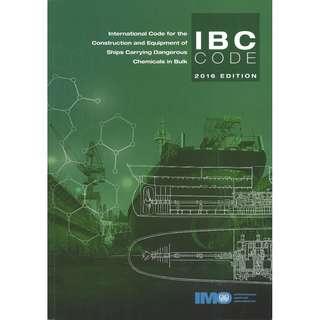 IBC code 2016 edition