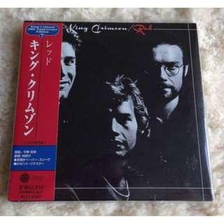 KING CRIMSON Red 30th Anniversary Ltd Japan CD HDCD 24bit /w Obi