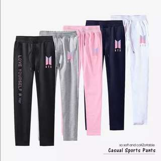 Preorder - BTS LOVE YOURSELF CASUAL SPORT PANTS ver.2 *S~3XL* each exc.pos