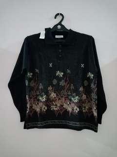 Kemeja sweater, merk La BlarNu. Kode S03