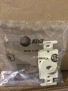 AT&T RJ45 Outlets