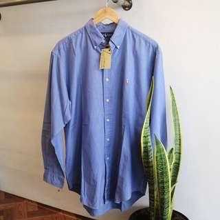 Kemeja Shirt Oxford Ralph Lauren