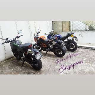 Motorcycle for Rent / Leasing
