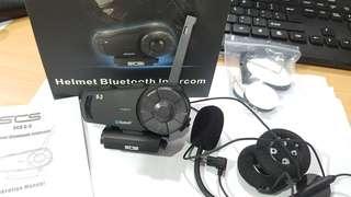 SCS helmet bluetooth intercom :)