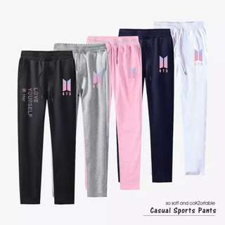 Preorder - BTS LOVE YOURSELF CASUAL SPORT PANTS (each) exc.pos