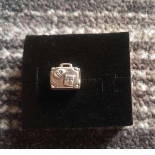 Pandora Suitcase Charm with Box