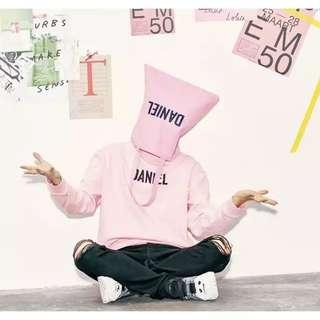 Lap姜丹尼爾黃Daniel粉紅袋