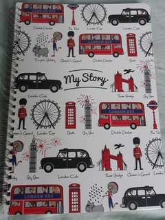 British Style Note Book