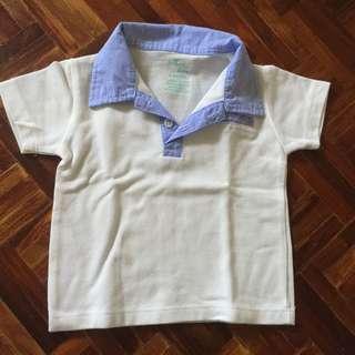 Baby polo shirt 6M