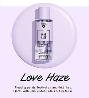 VICTORIA'S SECRET LOVE HAZE BODY MIST