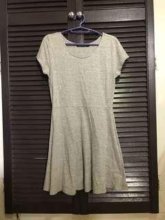 Grey Skater Dress