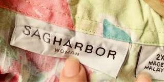 Sag Harbor Floral blouse