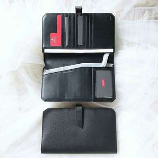 Tumi tech travel wallet BLACK size: 22cm x 12,5cm