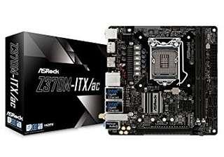ASRock - Z370M-ITX/ac Mini ITX LGA1151 Motherboard