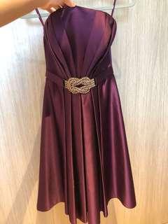 BellaBianca Purple Cocktail Gown / Dress