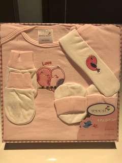 BNIB Newborn 4 Pcs Gift Set