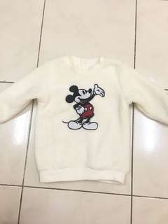 H&M Mickey Mouse Sweater