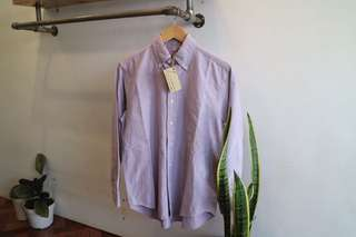 Kemeja Shirt Oxford Uniqlo