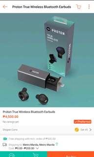 Proton wireless earbuds