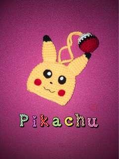 Handmade pikachu keycover