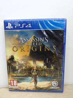 (Brand New) PS4 Assassin's Creed Origins / R2