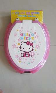 Hello Kitty soft toilet seat cover