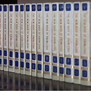 The New Book of Knowledge Encyclopedia 1993