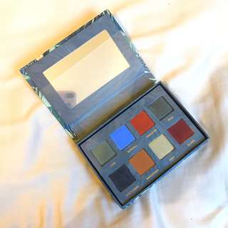 Rainforest eyeshadow palette by Face Candy Lime Crime Venus II dupe