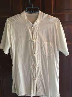 Mogao Chinese collar shirt
