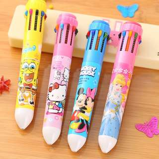 💖 Preorder: Children's Day Gift 10 in 1 & 6 in 1 Colour Pen